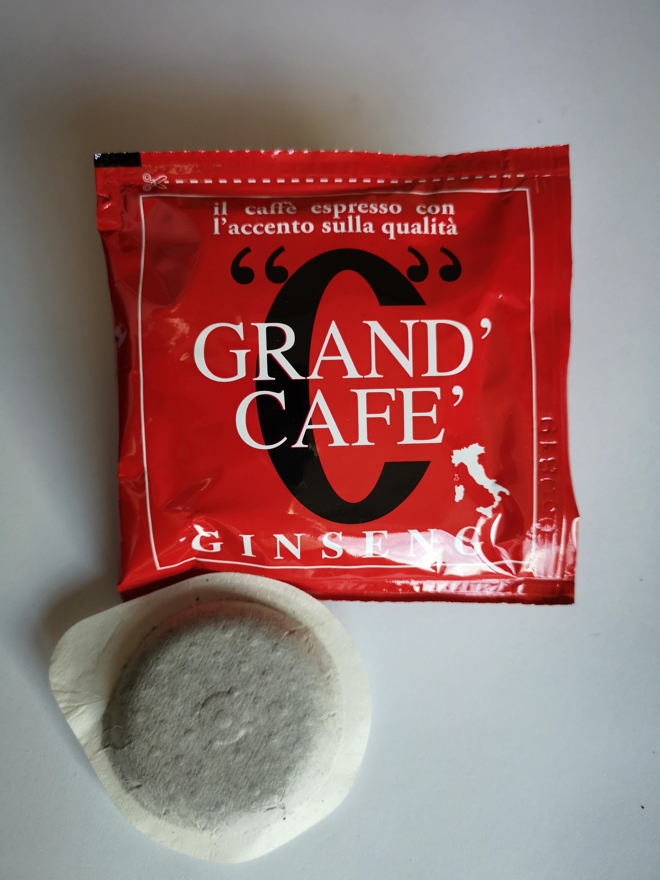 Cialda caffè ginseng