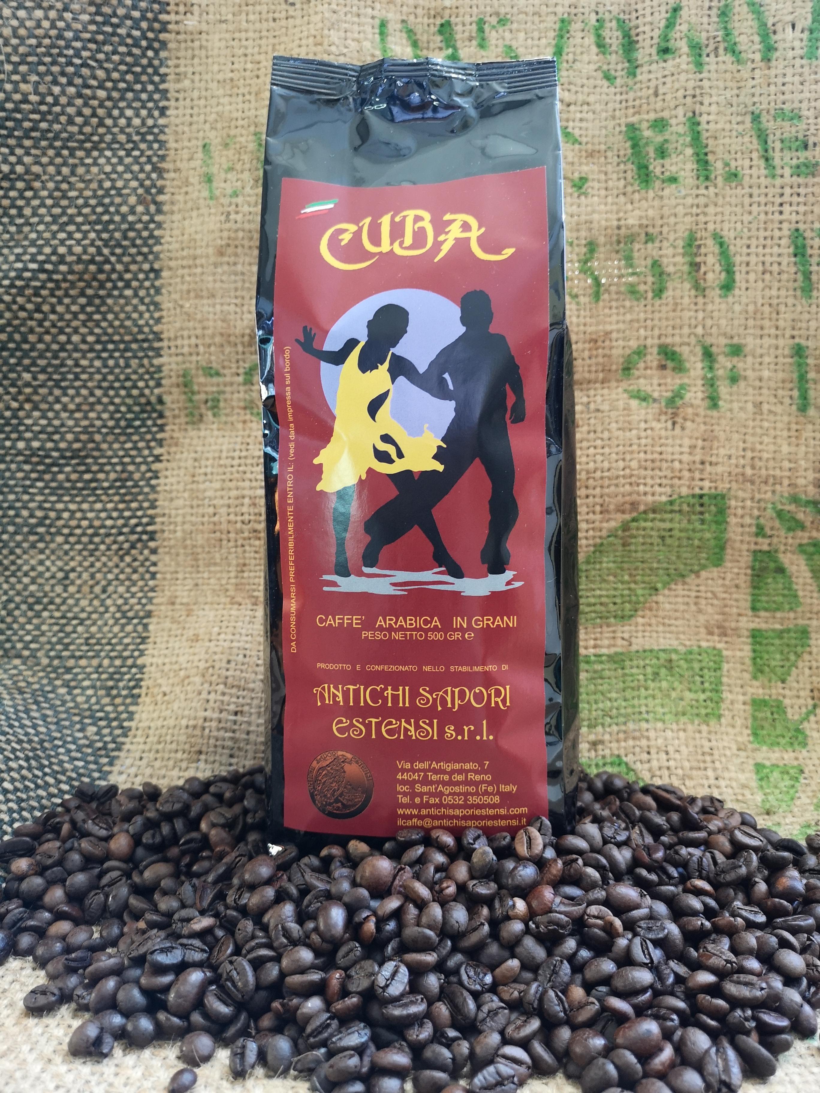 Caffè Cuba in grani