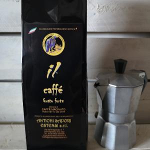 Caffè macinato forte